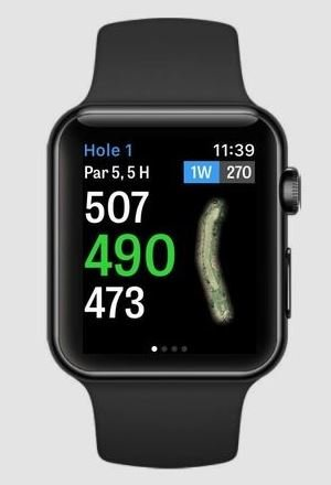 Golfshot Gold GPS Apple Watch App