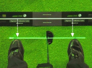 Laser Putt Golf Putting Training Aid